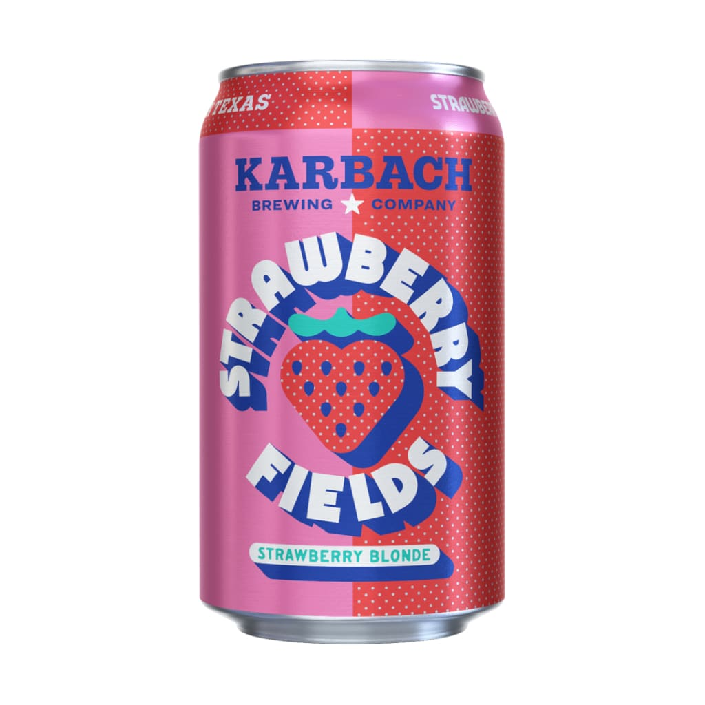 Strawberry Fields Strawberry Blonde | Karbach - alcoholic,