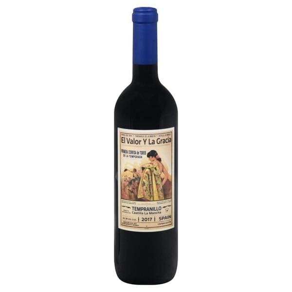 Tempranillo | El Valor y La Gracia - alcoholic, red wine,