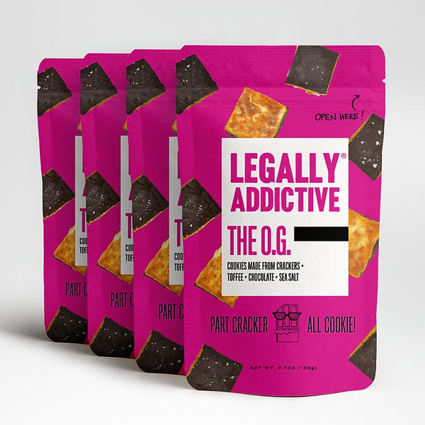 The O.G. | Legally Addictive - chocolate, cookies, crackers,