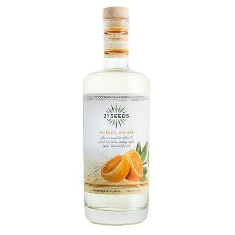 21 Seeds Valencia Orange Infused Tequila - 750ml - Tequila