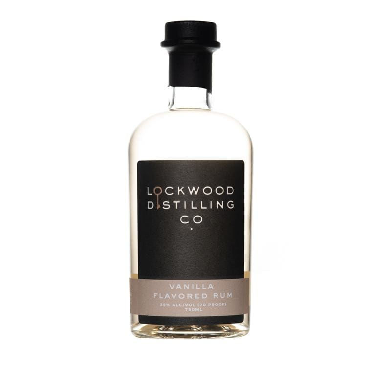 Vanilla Rum | Lockwood Distilling Co. - alcoholic, flavored