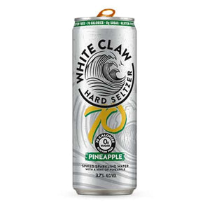 White Claw Pineapple - alcoholic, Hard Seltzer, white claw