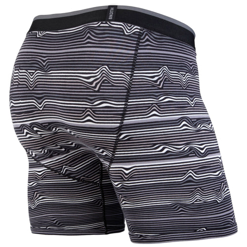 CLASSICS BOXER BRIEF: WARP STRIPE/BLACK | Boxer Brief