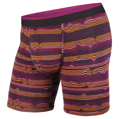 CLASSICS BOXER BRIEF: WARP STRIPE/PURPLE | Boxer Brief