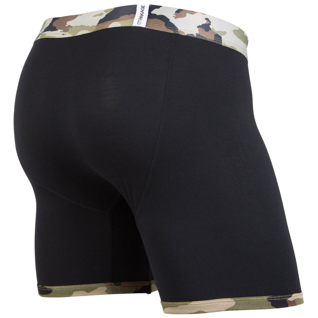 Weekday Boxer Brief: Black Camo