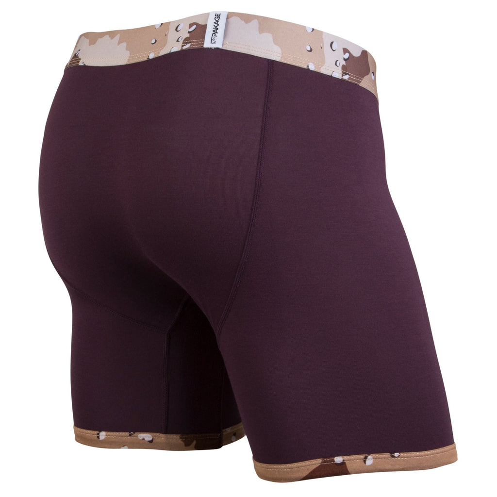 Weekday Boxer Brief: Plum/Desert Camo
