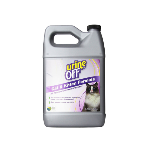 Urine off Odor & Stain Remover FOR CATS 1GL-Flooring Cache