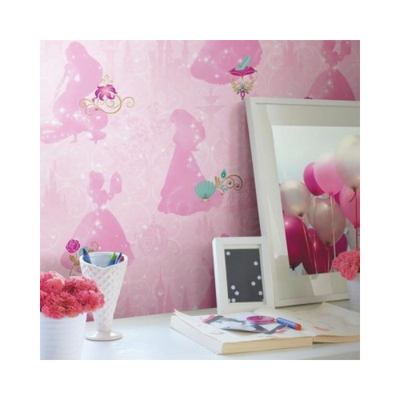 Wallpaper - Disney Princess Peel and Stick-Flooring Cache