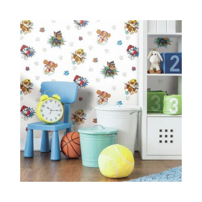 Wallpaper - Paw Patrol Peel and Stick-Flooring Cache