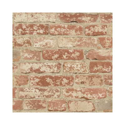 Wallpaper - Stuccoed Red Brick Peel and Stick-Flooring Cache