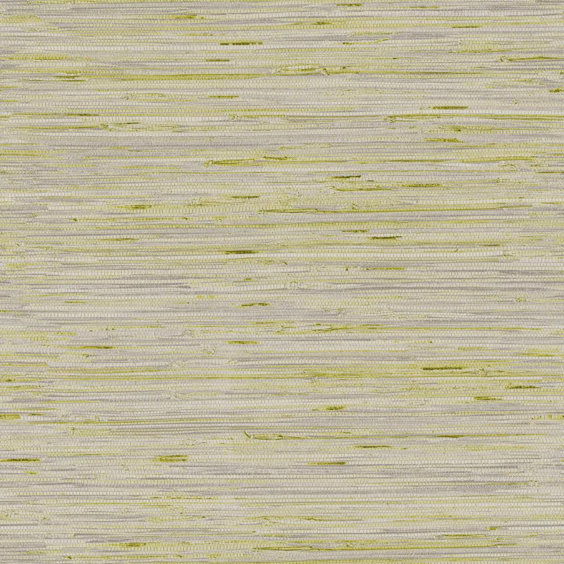 York Designer Series Y6201602 Dazzling Dimensions Lustrous Grasscloth Putty Silver Horizontal Grass Cloth