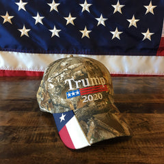 President Donald Trump 2020 Authentic USA Flag Hat