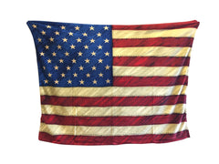 Donald Trump American Flag Blanket