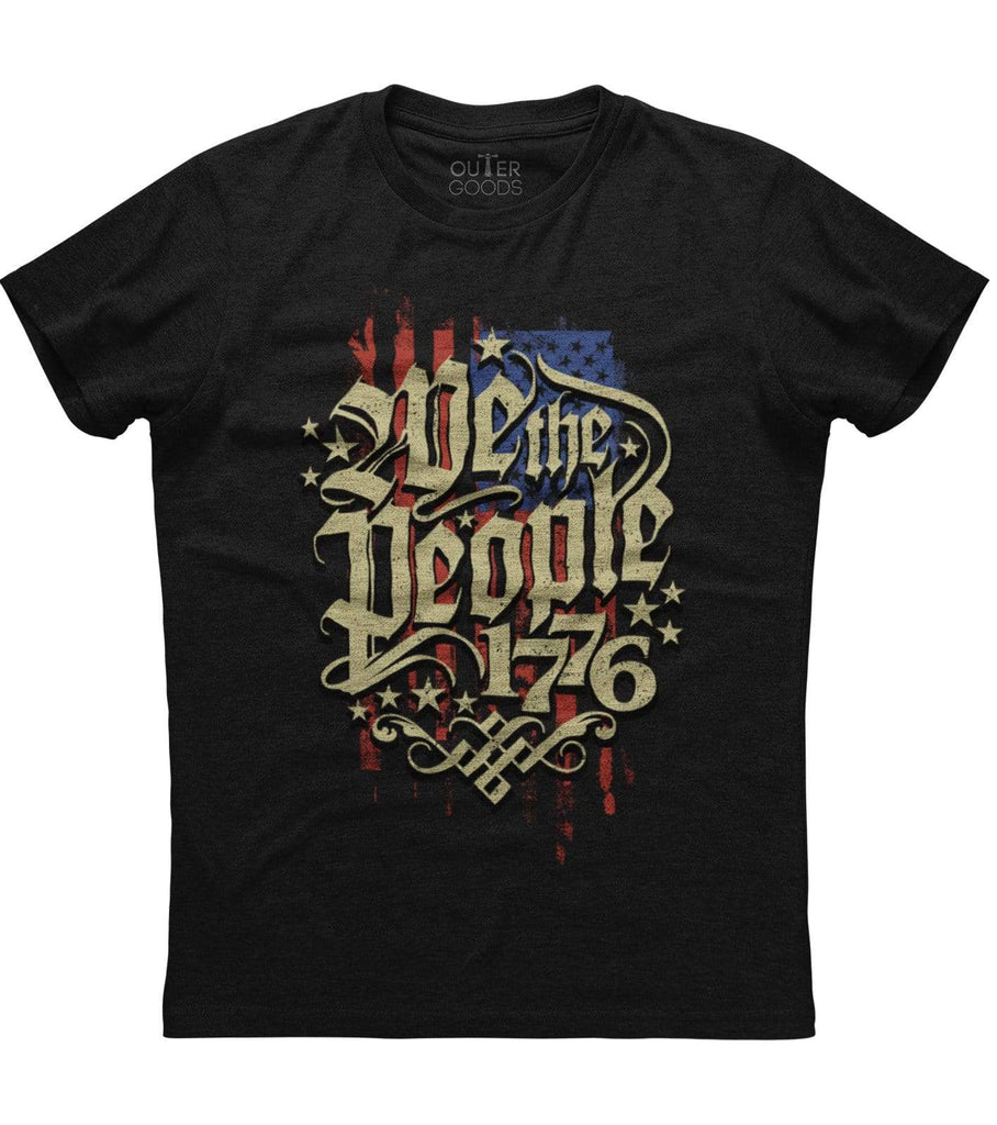 We The People 1776 Flag T-shirt (O)