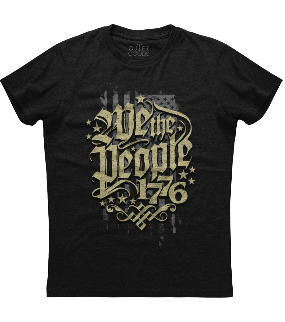 We The People 1776 BW T-shirt (NDL)