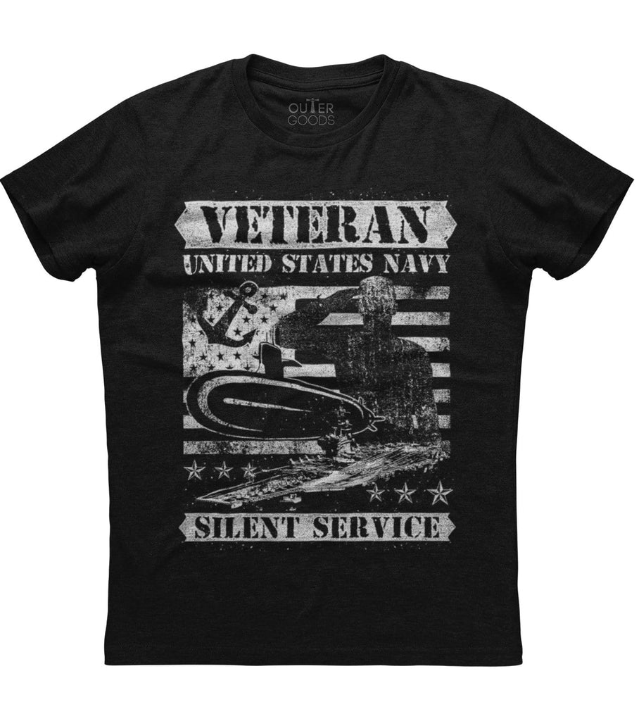 Veteran United States Navy Silent Service T-shirt (NDL)
