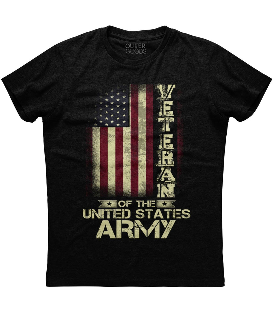 Veteran on The United States Army T-shirt (O)