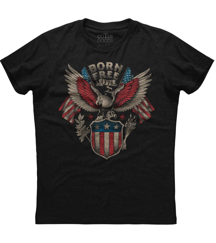 Born Free 1776 T-shirt (NDL)