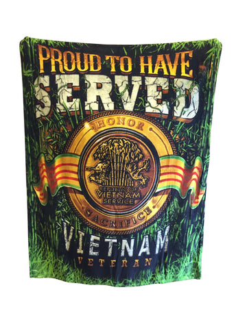 Proud To Have Served Blanket