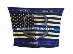 Blue Lives Matter Blanket