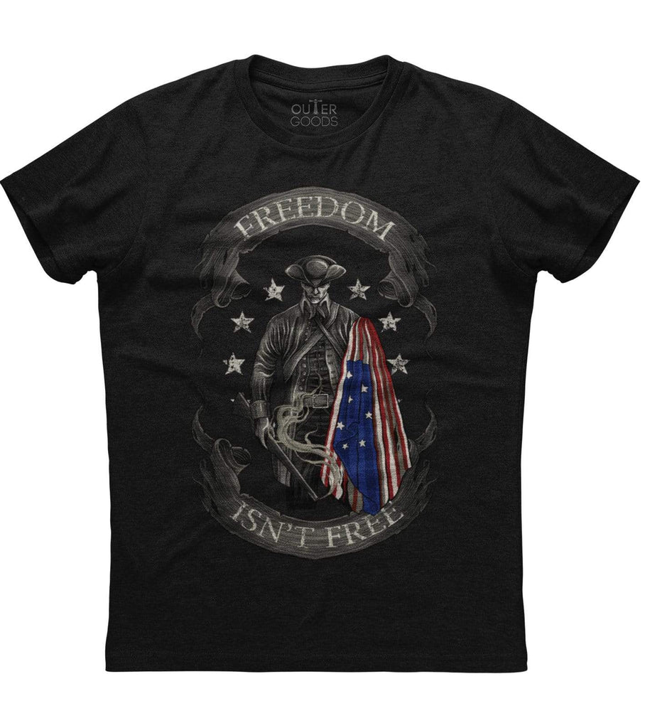Freedom Isn't Free American Flag T-shirt (O)