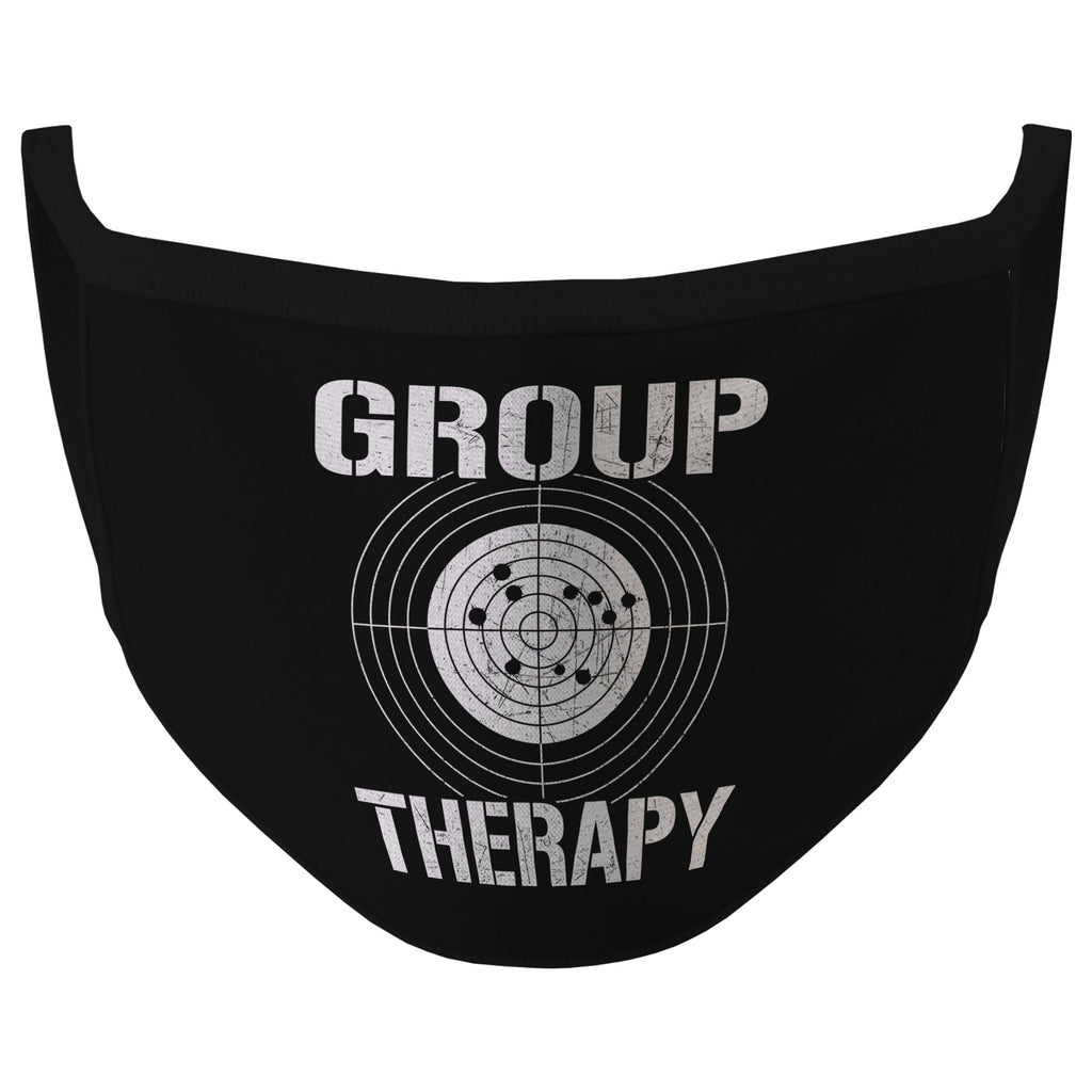 Black Group Therapy Face Mask (O)