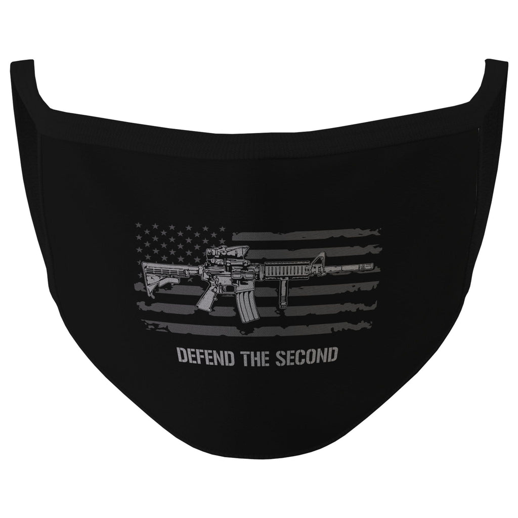 Black Defend The Second Face Mask (O)
