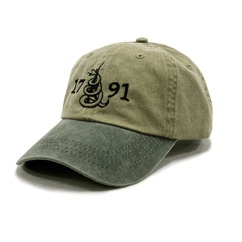 1791 Olive Two Tone Hat (O)