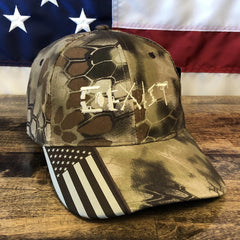 Coexist 2nd Amendment Kryptek Highlander Hat