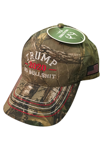 Donald Trump 2020 No BS RealTree Authentic Hat