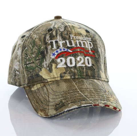President Donald Trump 2020 authentic RealTree Camo Hat