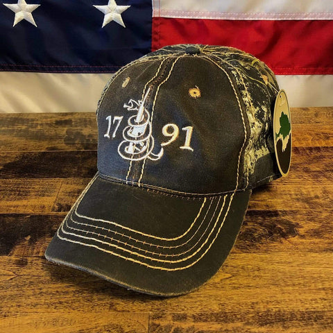 1791 2nd Amendment Mossy Oak Hat
