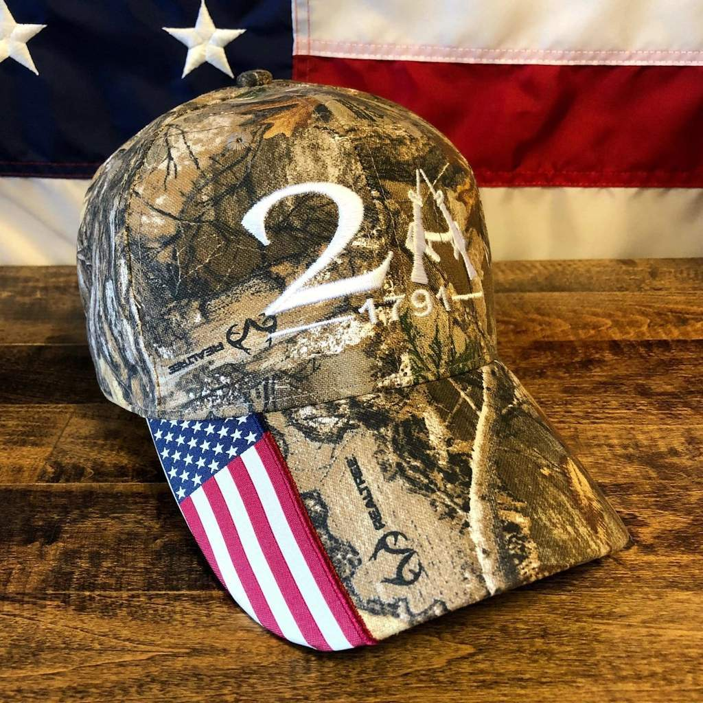 Realtree Camo Hat >> Realtree 2nd Amendment 1791 Hat | outergoods
