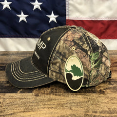 Donald Trump Veterans Lives Matter Mossy Oak Camo Hat