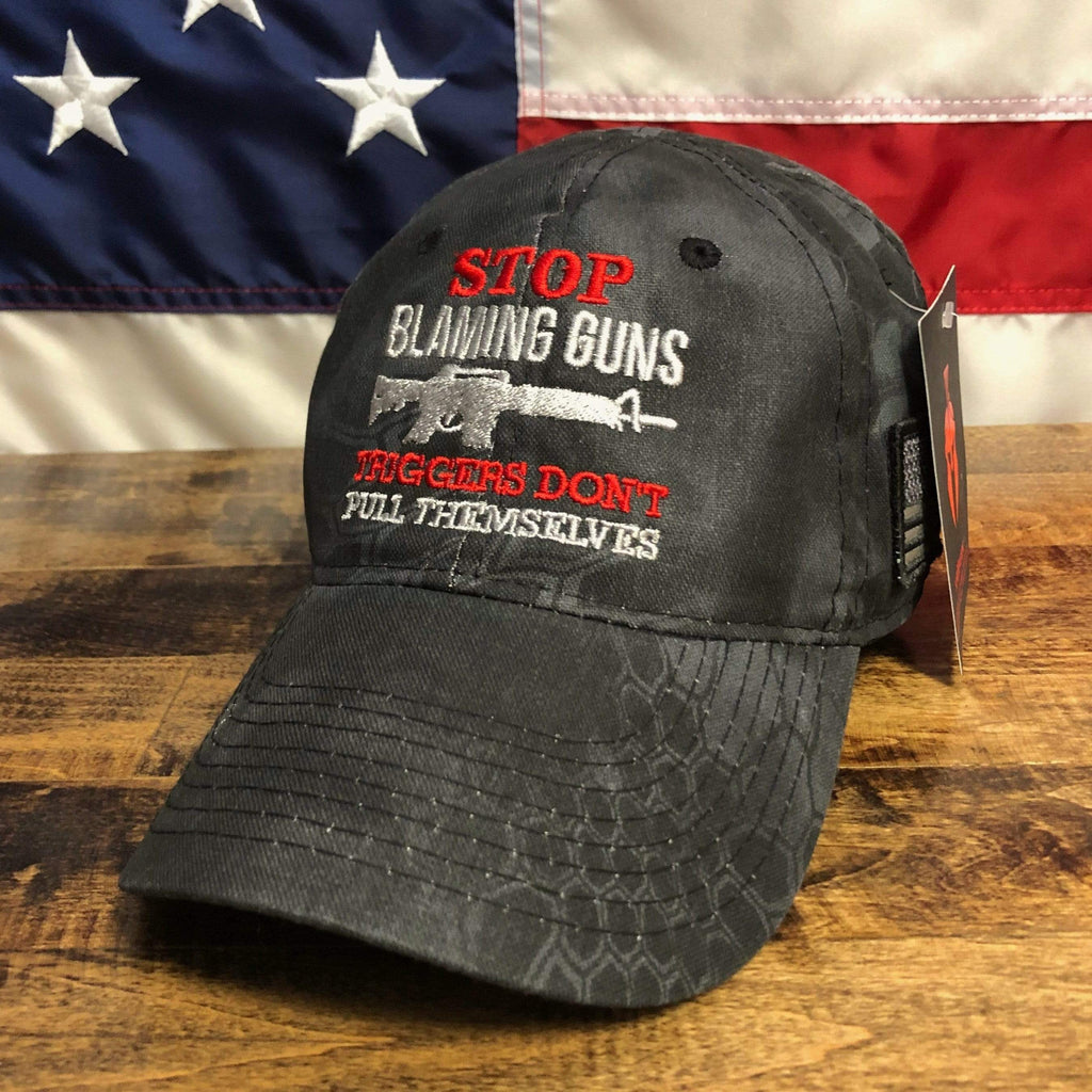 Stop Blaming Guns Kryptek Typhon Hat