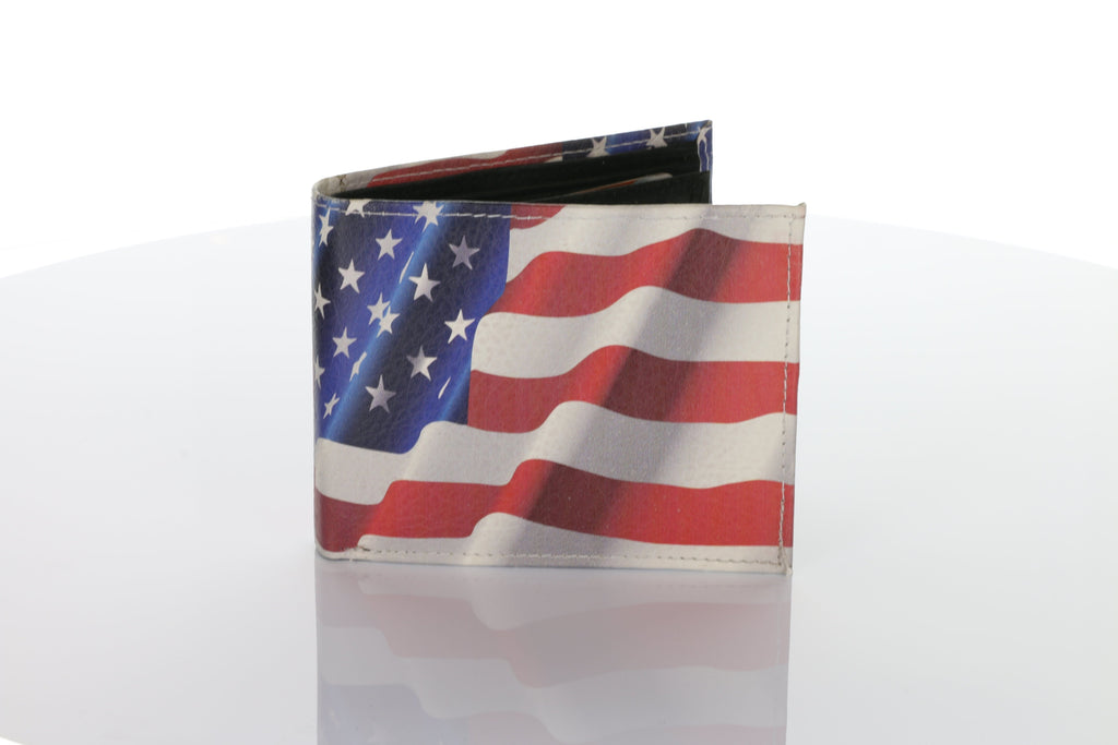 American Flag Authentic Handmade Wallet