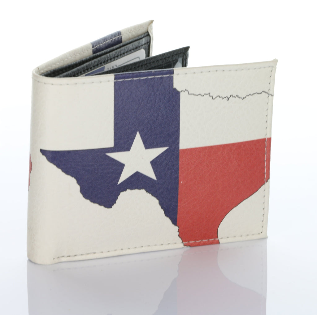 Texas Flag Authentic Handmade Wallet