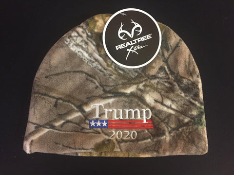 Donald Trump 2020 RealTree Authentic Beanie