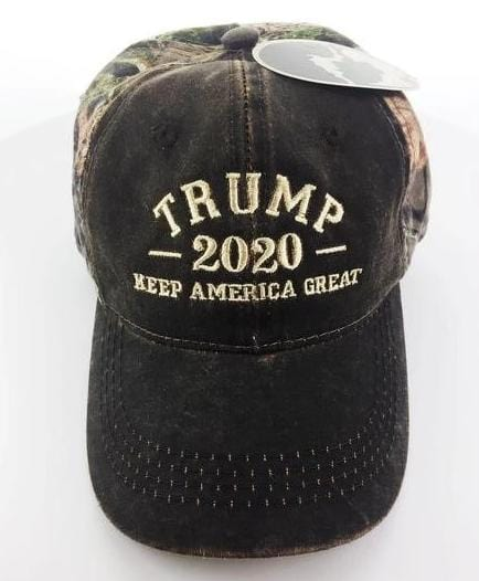 President Donald Trump 2020 Keep America Great Mossy Oak Hat (CO)