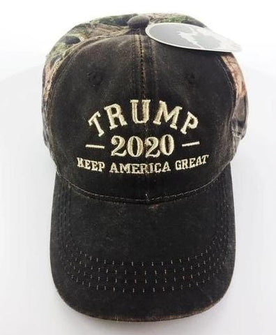 President Donald Trump 2020 Keep America Great Mossy Oak Hat