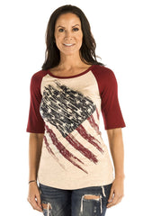 Patriotic Pride Baseball T-Shirt