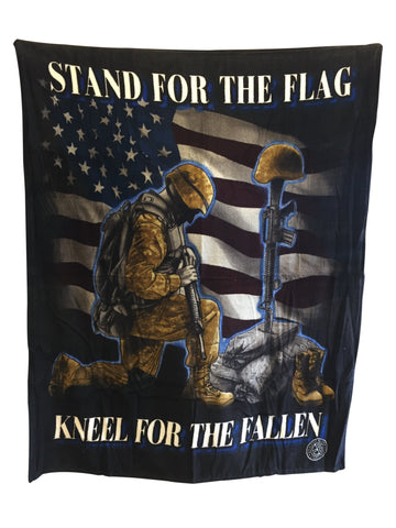 Stand For The Flag Blanket