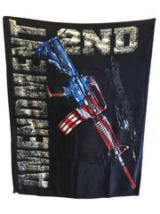 2nd Amendment Blanket