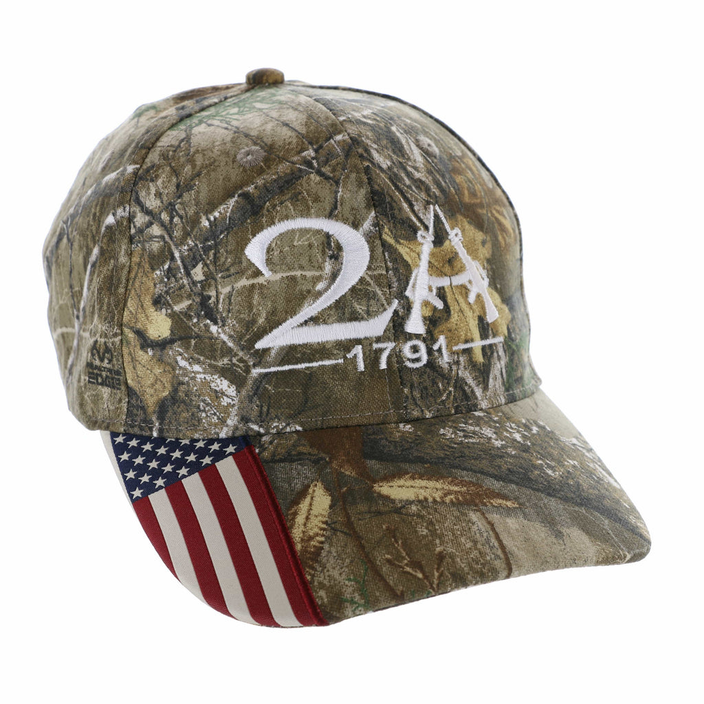 Realtree 2nd Amendment 1791 Hat (O)