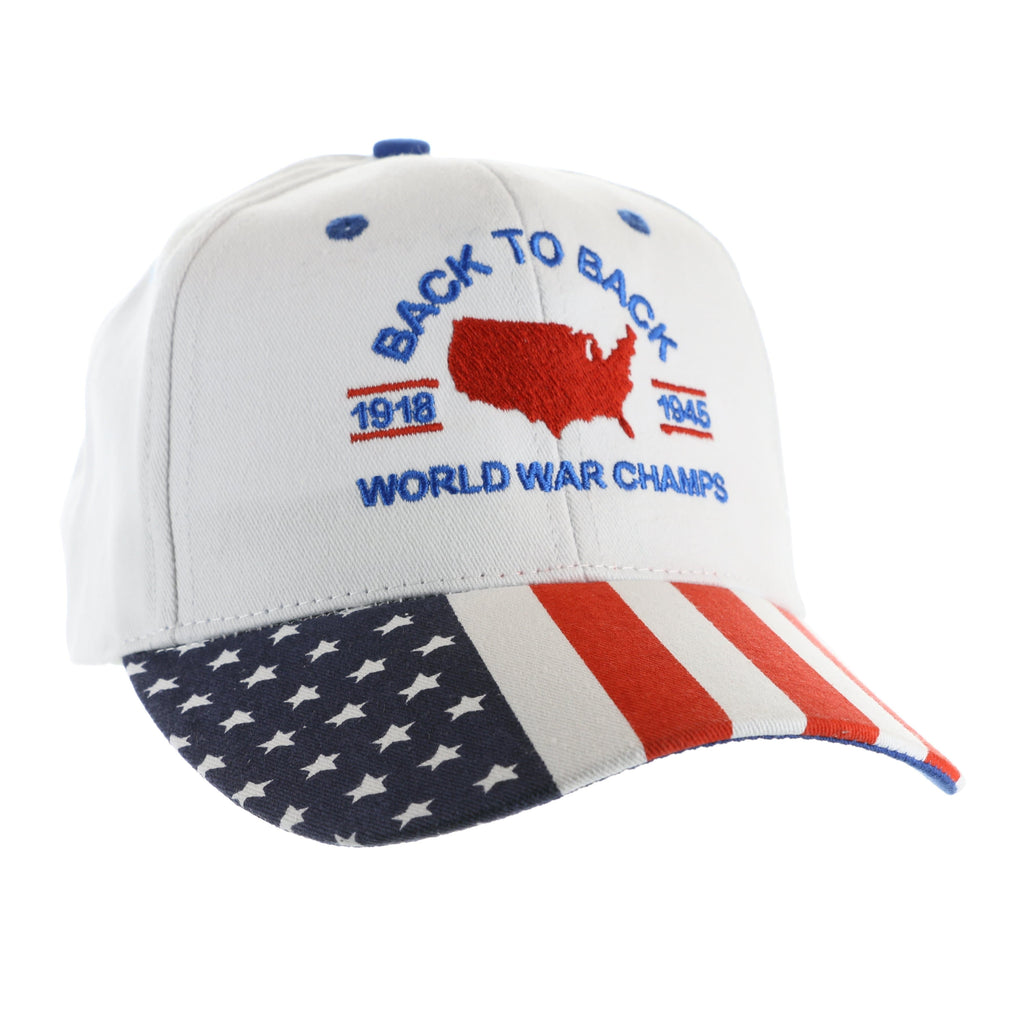 Back To Back World War Champs White Hat (CO)