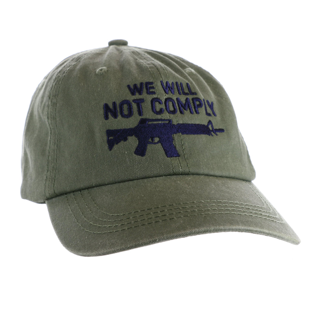 We Will Not Comply Amendment Hat (D)
