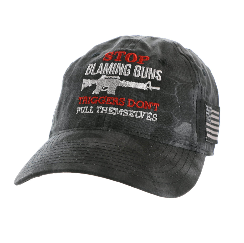 Stop Blaming Guns Kryptek Typhon Hat (O)