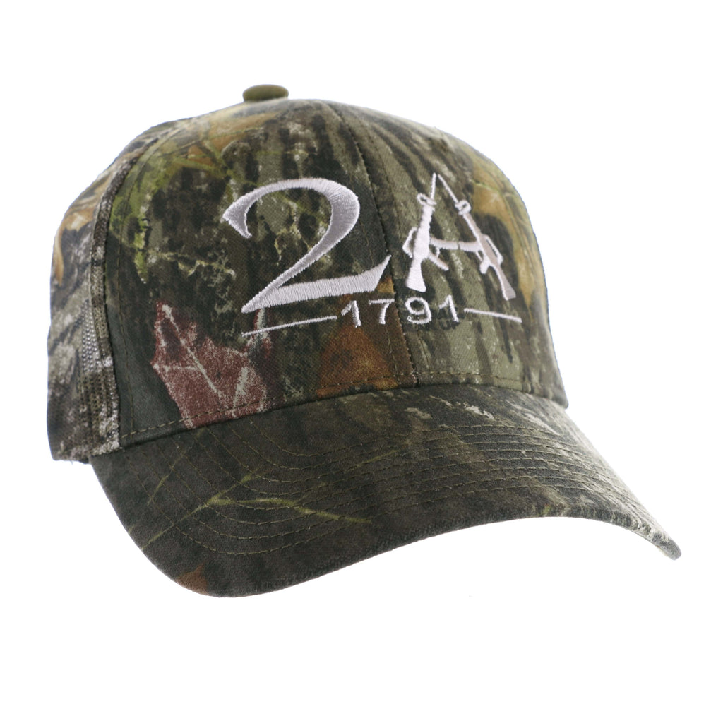 2nd Amendment Gun Rights Authentic Realtree Camo Hat - MADE IN USA