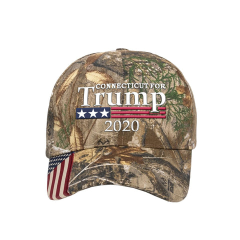 Connecticut  For Trump 2020 Hat