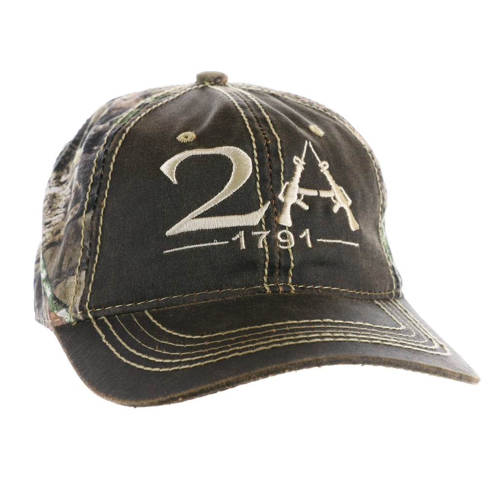 The 1791 2nd Amendment Authentic Camo Hat (O)